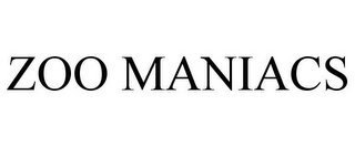 mark for ZOO MANIACS, trademark #85548115