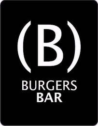 mark for (B) BURGERS BAR, trademark #85548245