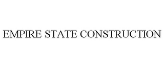 mark for EMPIRE STATE CONSTRUCTION, trademark #85548358