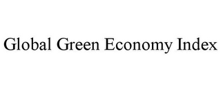 mark for GLOBAL GREEN ECONOMY INDEX, trademark #85548588