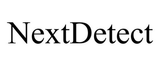 mark for NEXTDETECT, trademark #85548739