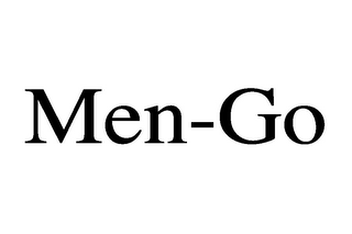 mark for MEN-GO, trademark #85548826