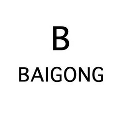 mark for B BAIGONG, trademark #85548994