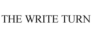 mark for THE WRITE TURN, trademark #85549374