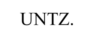 mark for UNTZ., trademark #85549650