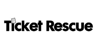 mark for TICKET RESCUE, trademark #85550068