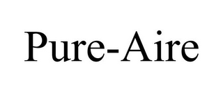 mark for PURE-AIRE, trademark #85550258