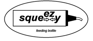 mark for EZ SQUEEZY FEEDING BOTTLE, trademark #85550259