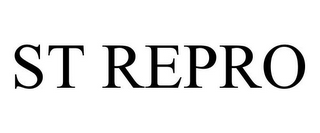 mark for ST REPRO, trademark #85550282