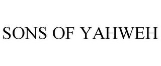 mark for SONS OF YAHWEH, trademark #85550351