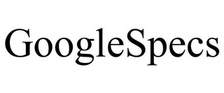 mark for GOOGLESPECS, trademark #85550446
