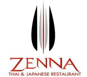 mark for ZENNA THAI & JAPANESE RESTAURANT, trademark #85550606
