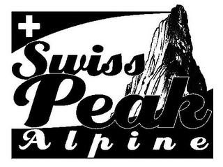 mark for SWISS PEAK A L P I N E, trademark #85550663