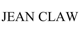 mark for JEAN CLAW, trademark #85550955