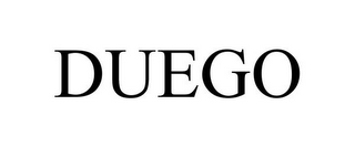 mark for DUEGO, trademark #85551026