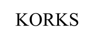 mark for KORKS, trademark #85551681