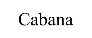 mark for CABANA, trademark #85551706