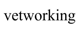 mark for VETWORKING, trademark #85551778