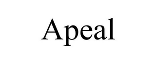 mark for APEAL, trademark #85551814