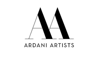 mark for AA ARDANI ARTISTS, trademark #85551831