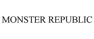 mark for MONSTER REPUBLIC, trademark #85551970