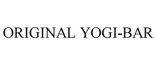 mark for ORIGINAL YOGI-BAR, trademark #85552020