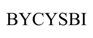 mark for BYCYSBI, trademark #85552041
