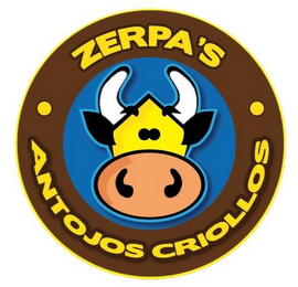 mark for ZERPA'S ANTOJOS CRIOLLOS, trademark #85552045