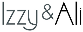 mark for IZZY & ALI, trademark #85552057