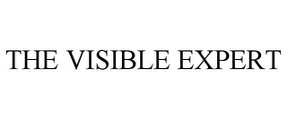 mark for THE VISIBLE EXPERT, trademark #85552058