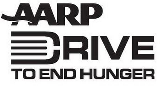 mark for AARP DRIVE TO END HUNGER, trademark #85552092