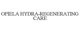 mark for OPIELA HYDRA-REGENERATING CARE, trademark #85552110