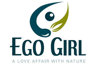 mark for EGO GIRL A LOVE AFFAIR WITH NATURE, trademark #85552251