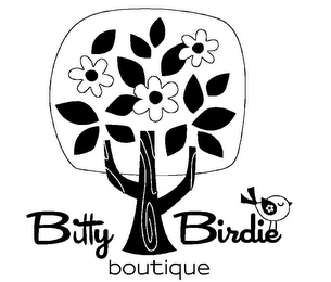 mark for BITTY BIRDIE BOUTIQUE, trademark #85552484