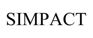 mark for SIMPACT, trademark #85552528