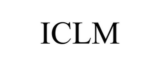 mark for ICLM, trademark #85552570