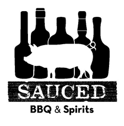 mark for SAUCED BBQ & SPIRITS, trademark #85552634