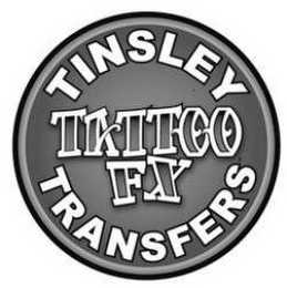 mark for TINSLEY TRANSFERS TATTOO FX, trademark #85552692