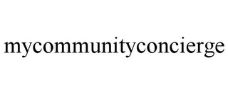 mark for MYCOMMUNITYCONCIERGE, trademark #85552814
