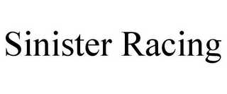 mark for SINISTER RACING, trademark #85553091