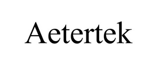 mark for AETERTEK, trademark #85553120