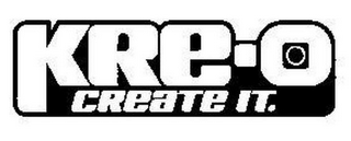 mark for KRE-O CREATE IT., trademark #85553182