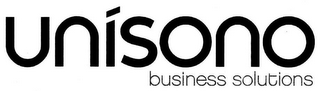 mark for UNISONO BUSINESS SOLUTIONS, trademark #85553282