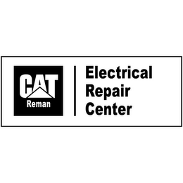 mark for CAT REMAN ELECTRICAL REPAIR CENTER, trademark #85553293