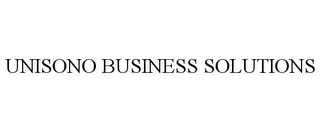 mark for UNISONO BUSINESS SOLUTIONS, trademark #85553315