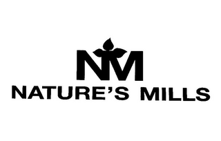 mark for NM NATURE'S MILLS, trademark #85553369