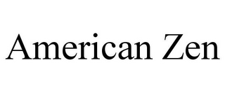 mark for AMERICAN ZEN, trademark #85553374