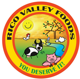 mark for RICO VALLEY FOODS YOU DESERVE IT!, trademark #85553422