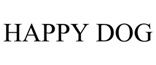 mark for HAPPY DOG, trademark #85553516