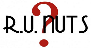 mark for R.U. NUTS?, trademark #85553585